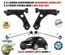 Para Alfa Romeo Mito 2008- > 2X Horquilla de Suspensión Arms + Estabilizador
