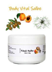 Body Vital Salbe (3-Öle),  Körperpflegesalbe, Hand- und Fußpflege 100 ml