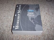 2009 Ford Focus Coupe & Sedan SE SEL Workshop Shop Service Repair Manual Book