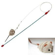 Da Bird Cat Catcher Cat Teaser - Wand with Replaceable Mouse on a Wire
