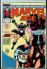 Marvel Comics MARVEL AGE #9 Super Boxers Captain America NM 9.4