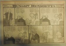 Hungry Henrietta by Winsor McCay from 5/28/1905 ! Half Page Size! 11 x 15 inches