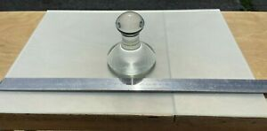 GLASS MULLER WITH GLASS GRINDING PLATE ROBERSON TYPE ARTISTS TOOL 60MM O.D. NEW