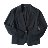 VINGT-TROIS ARRONDISSEMENTS Women's Black Office Blazer Jacket. Size UK 8,EU 38.