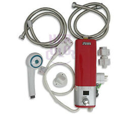 Mini Portable Electric Hot Water Heater Shower System Instant Caravan Camping