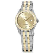 New Baume & Mercier Clifton Automatic 18kt Rose Gold & Women's Watch 10351