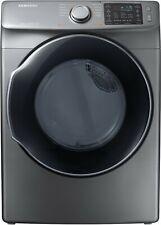 """Samsung Dvg45M5500P 27 Inch Gas Dryer with Multi-Steamâ""""¢ Technology Platinum"""