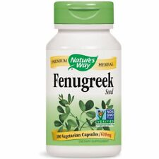 Nature's Way FENUGREEK Seed 610 mg - 100 capsules SOOTH STOMACH
