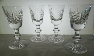 Four Edinburgh Crystal 'HIGHLAND' pattern sherries. (504)