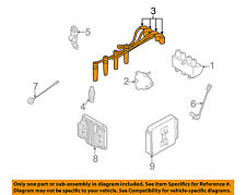 Chevrolet GM OEM 04-11 Aveo Ignition Spark Plug-Wire OR Set-See Image 96497773
