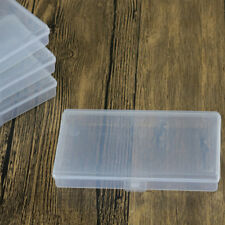 Small Clear Plastic Transparent With Lid Storage Boxes Collection Container Case