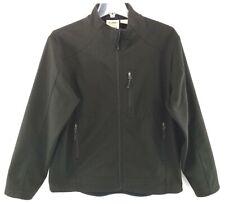 10,000 Above Sea Level Jacket Men's Black Full Zip Coat Fleece Lined Size Med