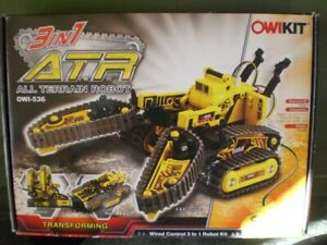 ATR OWIKIT OWI-536 All Terrain Transforming Robot Wired Control 3 in 1 Robot Kit