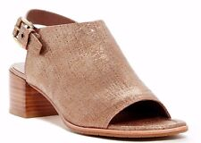 $228 NIB Donald J Pliner Mazie Slingback Leather Sandal LIGHT BRONZE Size 9