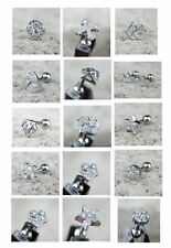 Handmade Stainless Steel Stud Fashion Earrings