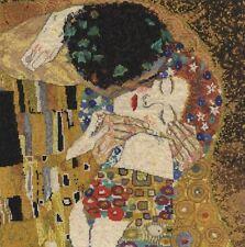DMC Gustav Klimt Counted Cross Stitch Kit- The Kiss