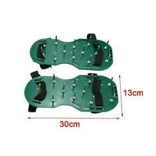 Lawn Aerator Shoes Sandals Plastic Grass Aerating Spikes Garden Tool Yard P1K8