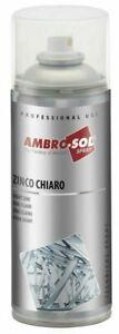 ZINCO CHIARO SPRAY 400ml ZINCANTE A FREDDO ANTIRUGGINE E RESISTENTE