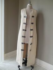 SO RARE Vintage ALL NATURAL MATERIALS Maxi DRESS Pax Apparel HEMP RUBBER ALUM