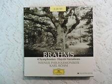 Brahms: 4 Symphonies - Haydn Variations - 3 CD Collector's Ed. Set  Import OBI
