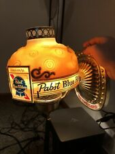 Vintage ~ Pabst Blue Ribbon Beer Electric Wall Lighted Sign ~ Lamp Rare Works
