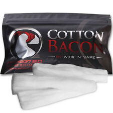 NEW Cotton Bacon V2 Version 2.0 By Wick 'N' Vape Organic Wicking Material US