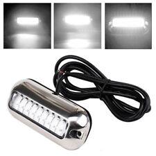 27 LED White Underwater Marine Boat Transom Light Lamps 50W Stainless Steel 316