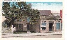 Postcard Witch House Salem MA