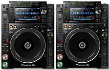 (2) PIONEER CDJ 2000 NXS2 - PRO MEDIA PLAYERS - CD, MP3, USB, AAC /  NEXUS