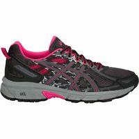 Asics T7G6N 001 GEL-Venture 6 Black Pixel Pink Women's Running Shoes