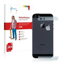 2x Vikuiti Protector CV8 from 3M Apple iPhone 5S Back (glass surfaces + logo)