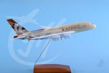 1:200 30CM ETIHAD AIRBUS A380 Passenger Airplane Diecast Metal Plane Model