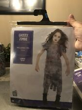 Ghostly Zombie Child Costume Size Large 12-14