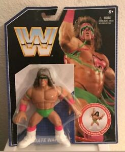 Ultimate Warrior WWE Retro Mattel Wrestling Action Figure New