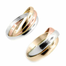 Band Multi-Tone Gold Fine Rings