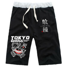 New Men Women Sports Shorts Pants Anime Tokyo Ghoul Short Trousers Casual Jogger
