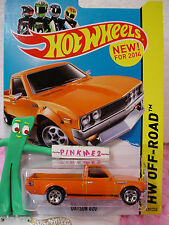 Case A/B 2014 Hot Wheels DATSUN 620 pickup truck #139 US Team☆Orange☆Hot Trucks