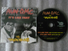 CD-RUN DMC_JASON NEVINS-IT'S LIKE THAT-DROP THE BREAK/BATTLE(CD SINGLE)97-2TRACK