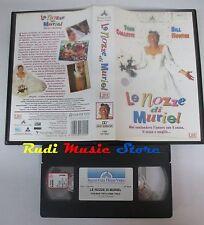 film VHS LE NOZZE DI MURIEL Toni  Collette Bill Hunter  1996    (F18) no dvd