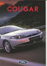 FORD COUGAR 16V & 24V  SALES BROCHURE / POSTER 1998