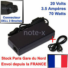 CHARGEUR ALIMENTATION POUR DELL OP-520-62001 OR334 PA-1 PA-2  20V 3.5A