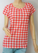 AJC Shirt im Vichy-Karo rot/weiß Gr. 40 - Neu