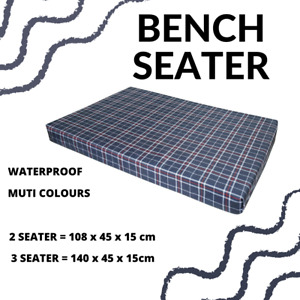Garden Bench Patio Seat Pad Chair Cushion Swing Seater Outdoor chairs WATERPROOF