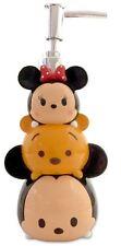 Tsum Mickey Minnie Pooh Lotion Pump Dispenser Fun Bath Container Kids Bathroom