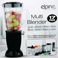 17Pc 250 W Proiettile Cup elettrico Multi Frullatore Macinacaffè frullato di cibo processore nero
