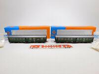 CM891-1 #2x Roco H0 / Dc Voiture de Tourisme DB Nem Kkk : 4250S+4252S,Mint + Box
