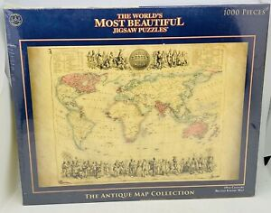 Crown Andrews 1000 Piece Jigsaw Puzzle 19th Century British Empire Map Sealed