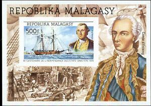 Malagasy Scott #C140 Souvenir Sheet Mint Never Hinged