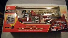 RARE New Bright Rescue Fire Engine Fingertip Control No 930 Ladder 28 Plymouth