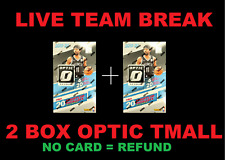 Portland Trail Blazers 2-Box Optic Tmall Team Break Basketball Box Break #159